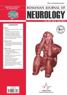 Romanian Journal of Neurology, Volume XIV, No. 2, 2015