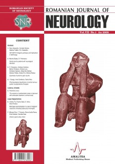 Romanian Journal of Neurology, Volume VII, No. 1, 2008
