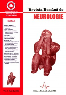Romanian Journal of Neurology, Volume V, No. 2, 2006