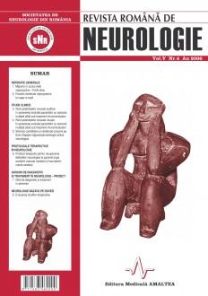 Romanian Journal of Neurology, Volume V, No. 4, 2006