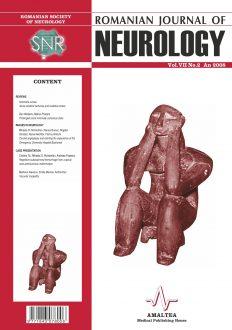 Romanian Journal of Neurology, Volume VII, No. 2, 2008