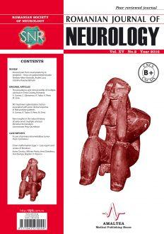 Romanian Journal of Neurology, Volume XV, No. 3, 2016