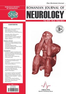 Romanian Journal of Neurology, Volume XVI, No. 2, 2017