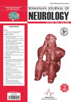 Romanian Journal of Neurology, Volume XVII, No. 3, 2018