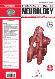 Romanian Journal of Neurology, Volume XIX, No. 3, 2020